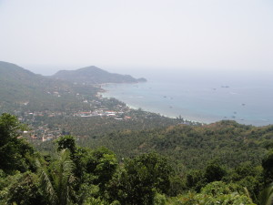 Mango Viewpoint - the view was worth the crazy steep ride and hike