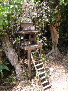 The cutest little spirit house I've seen yet