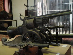 A gun cannon! @ The National Museum