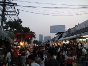The night market is a happening spot