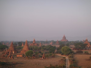 Temples as far as the eye can see!