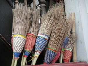 brooms!