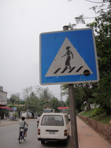 They had equal numbers of crosswalk signs depicting women as men.  Apparently it takes Communism to start thinking about gender equality on this level!