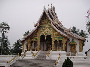 The wat at the Royal Palace.