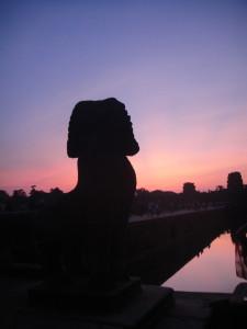 Sunrise @ Angkor Wat.