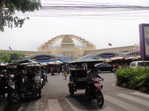 The Central Market from outside.