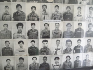 Every victim was photographed and accounted for.  There are hundreds of these photos on display, just a small number of those who came through S-21.