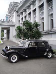 Snazzy car!  (at the HCMC Museum)