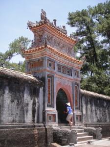 Tomb of Tu Duc.