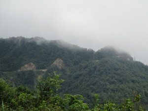 A view of Tram Ton Pass.