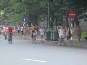 Hanoi in the morning.